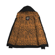Custom Made Tiger AOP Zip Hoodie with Inside Print - Get Set Style Metro