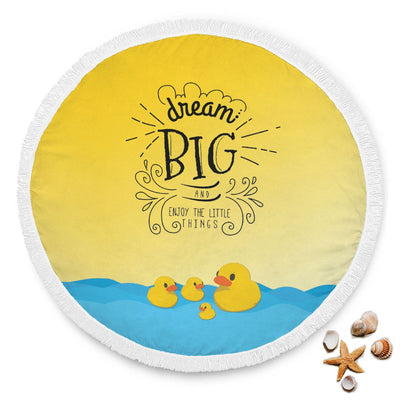 Duck Lover Custom Design Rounded Blanket - Get Set Style Metro