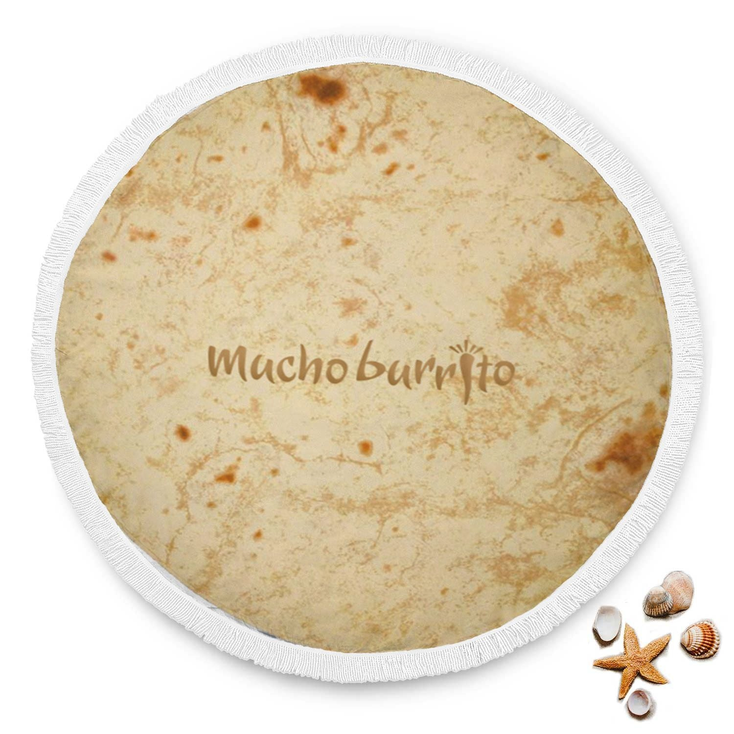Mucho Burrito Rounded Blanket - Get Set Style Metro