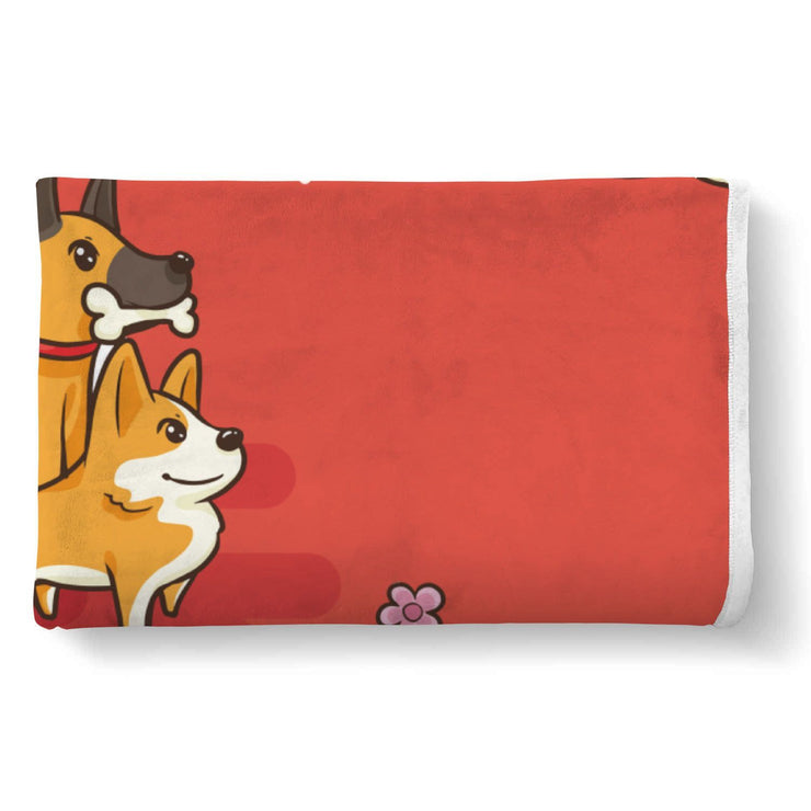 Dog Lover Custom Designed Normal Blanket - Get Set Style Metro