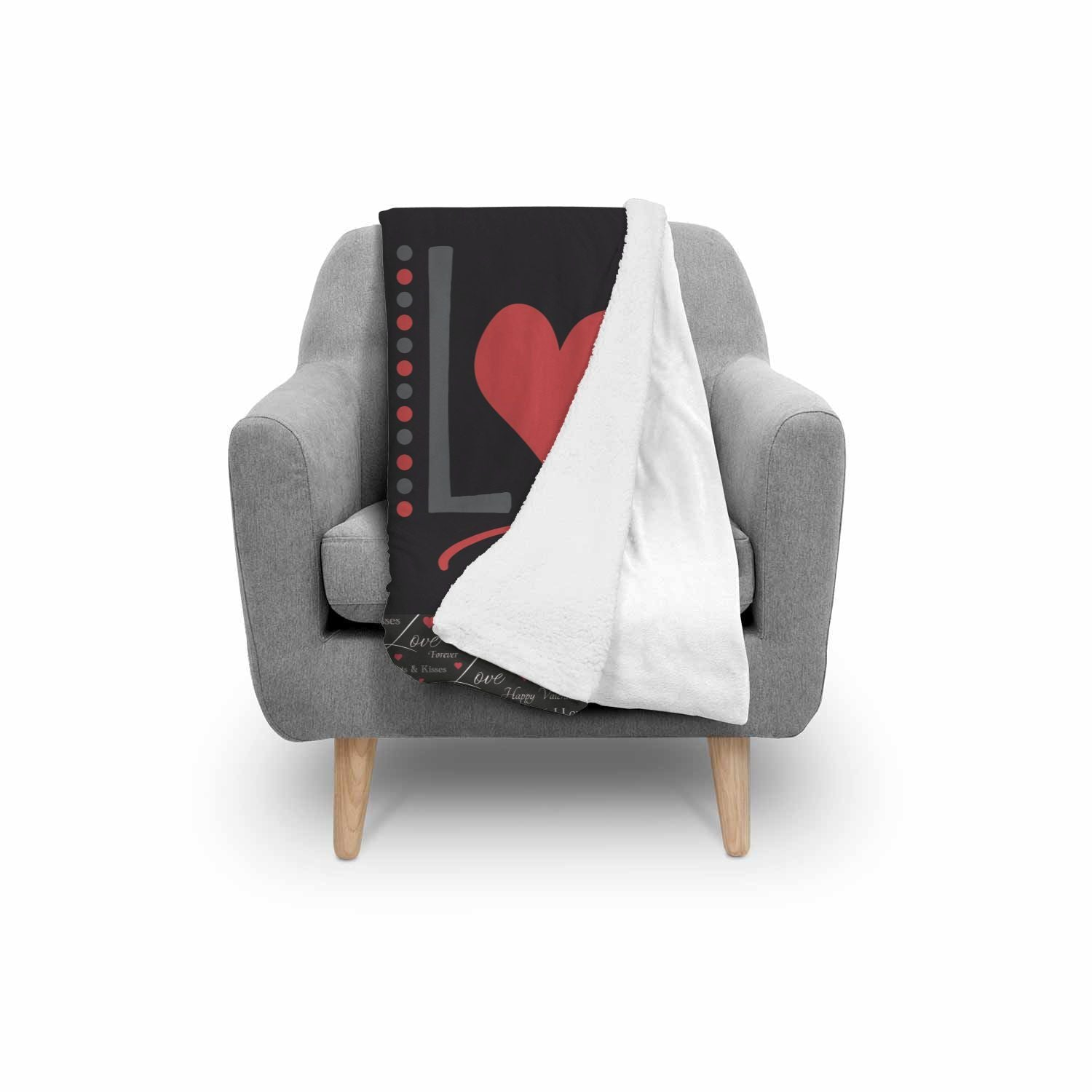Two Love Design Normal Blanket Towel - Get Set Style Metro
