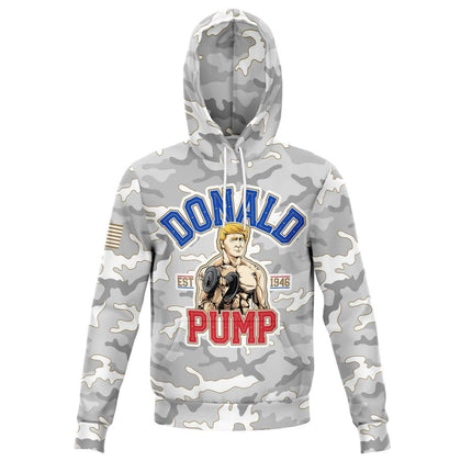 Donald Pump Fashion Hoodie AOP - Get Set Style Metro