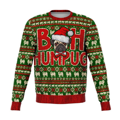 Bah Humpug Ugly Christmas Fashion Sweatshirt AOP - Get Set Style Metro
