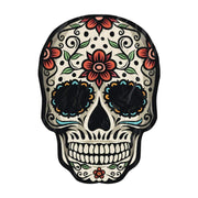 Awesome Sugar Skull Freeform Beach Towel - Get Set Style Metro
