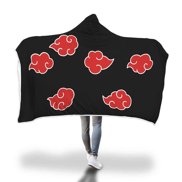 Awesome Akatsuki Cloak Inspired Costume Hooded Blanket - Get Set Style Metro