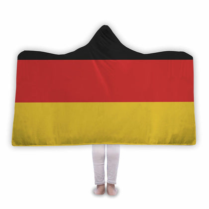 Germany Flag Custom Designed Hooded Blanket - Get Set Style Metro
