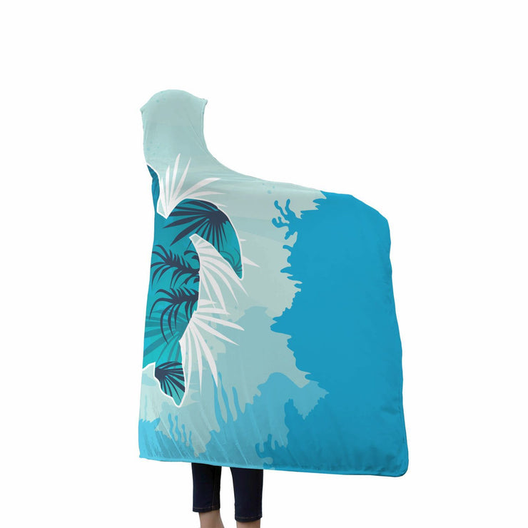 Sea Turtle Hooded Blanket - Get Set Style Metro