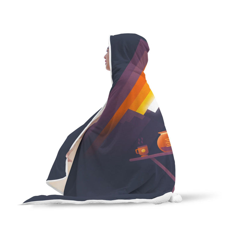 Sun Is Shining Hooded Blanket - Get Set Style Metro