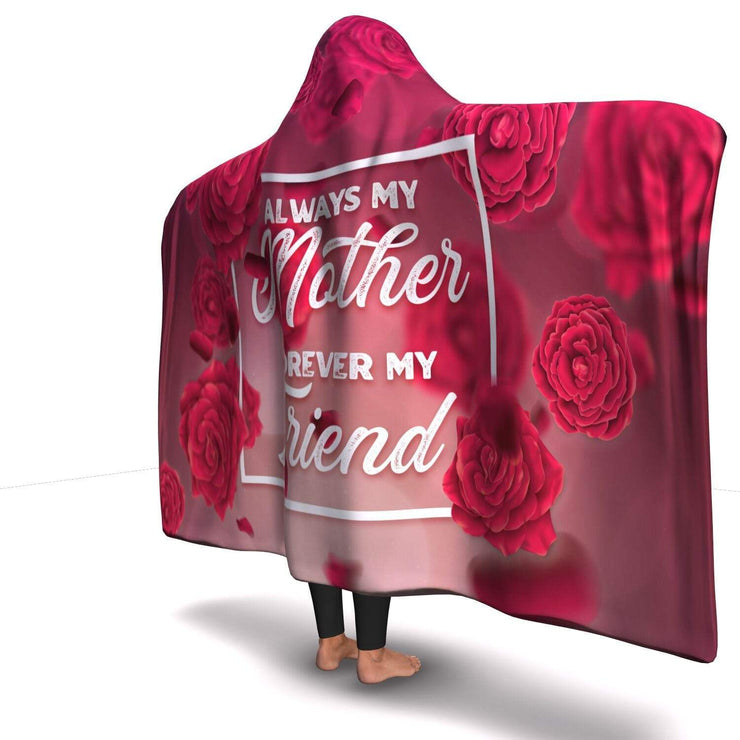 GetSetStyleMetro Hooded Blanket Premium Mother Forever My Friend Hooded Blanket