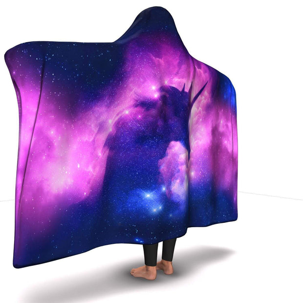 GetSetStyleMetro Hooded Blanket Premium Unicorn Hooded Blanket