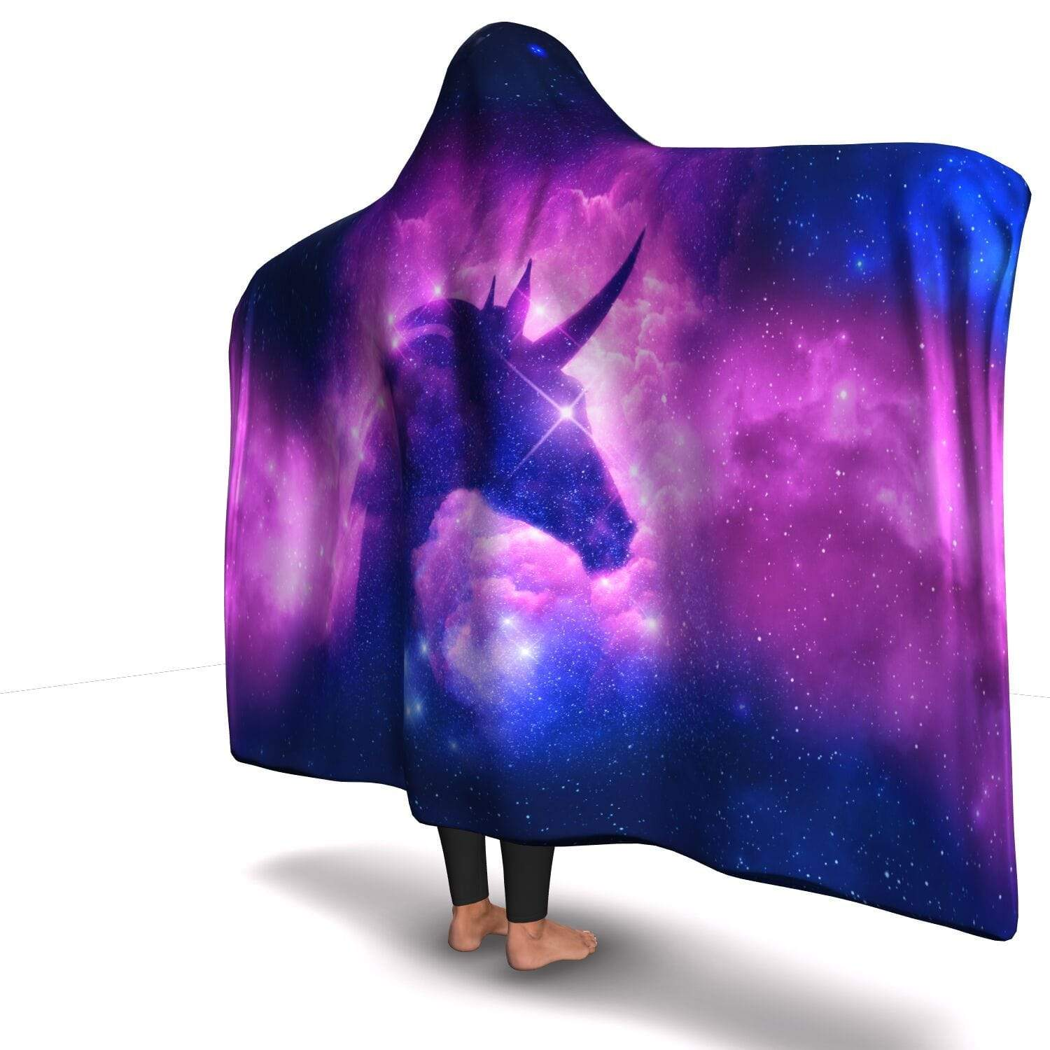 Premium Unicorn Hooded Blanket - Get Set Style Metro