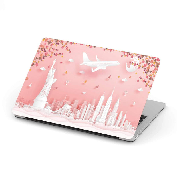 Custom Design Autumn USA MacBook Case - Get Set Style Metro