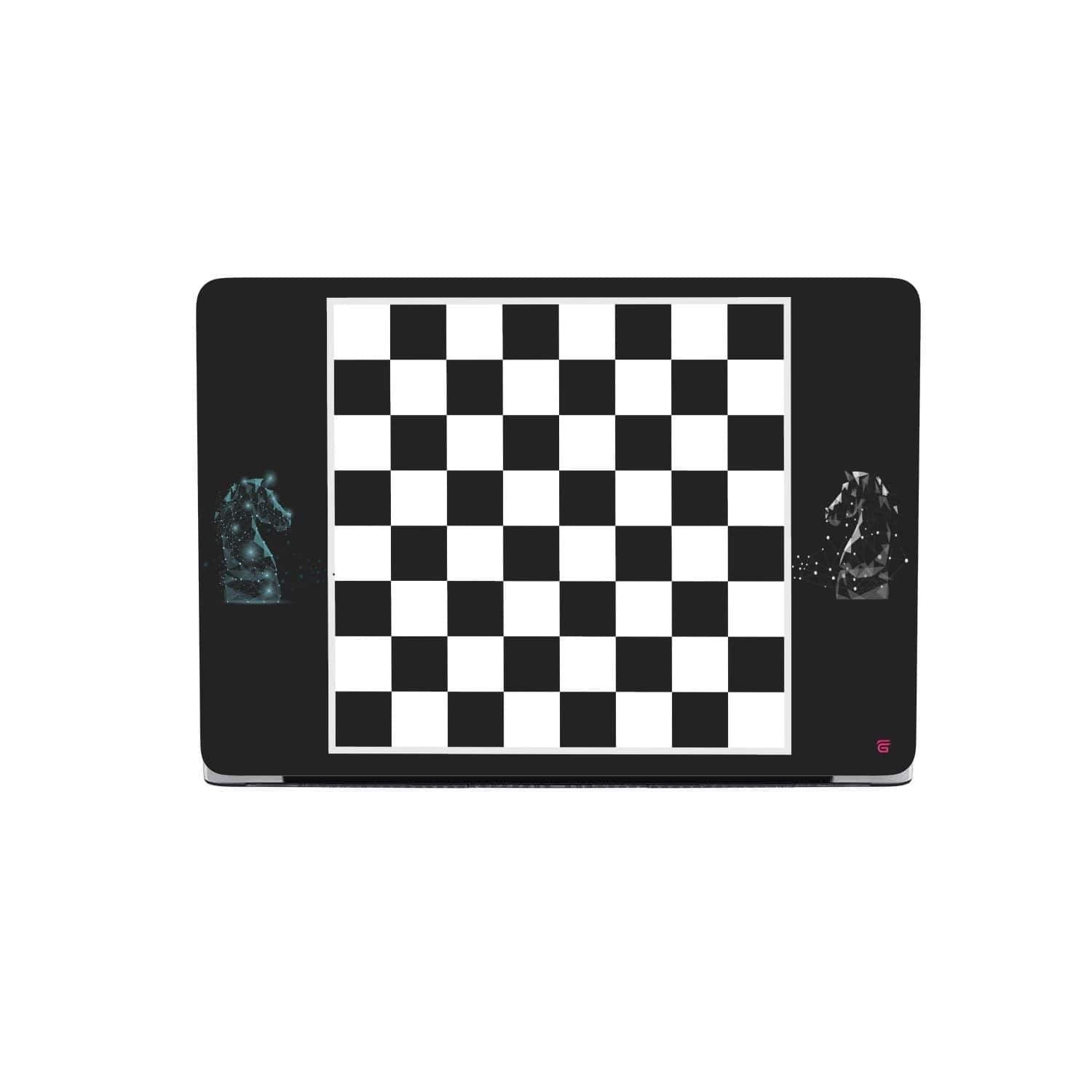 Custom Design Chess Board MacBook Case - Get Set Style Metro