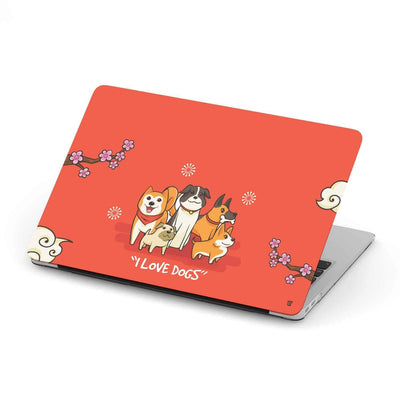 Custom Design Dog MacBook Case - Get Set Style Metro