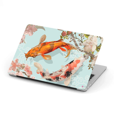 Custom Design Koi Fish MacBook Case - Get Set Style Metro