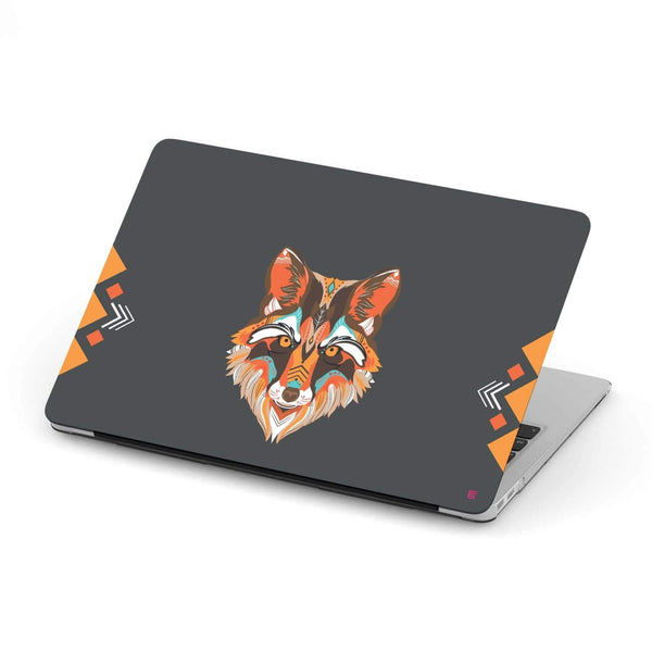 Custom Design Vector Wolf MacBook Case - Get Set Style Metro