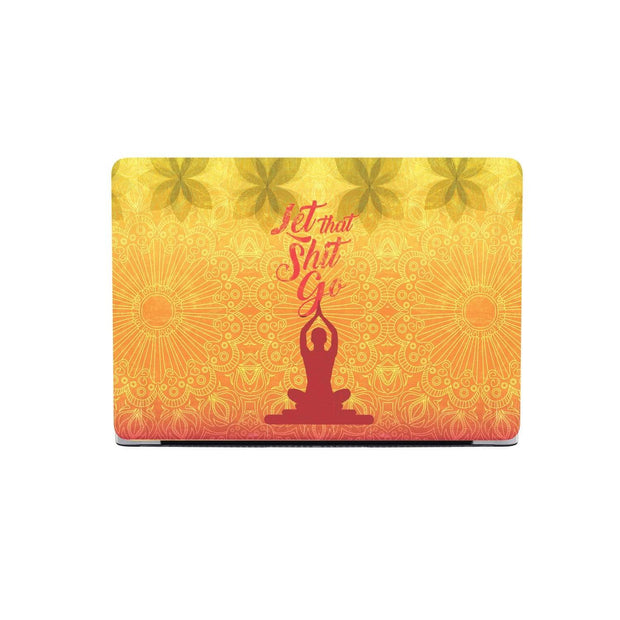 Custom Design Yoga MacBook Case - Get Set Style Metro