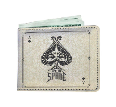 Ace of Spades RFID Men Wallet - Get Set Style Metro