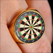 Awesome Custom Design Dartboard Ring - Get Set Style Metro