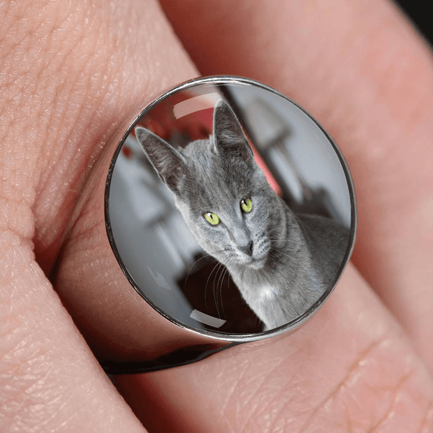 Personalized Photo Ring That You Can Design - Get Set Style Metro