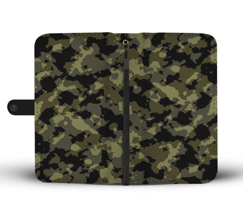 Camouflage Army Pattern 5 RFID Wallet Phone Case - Get Set Style Metro