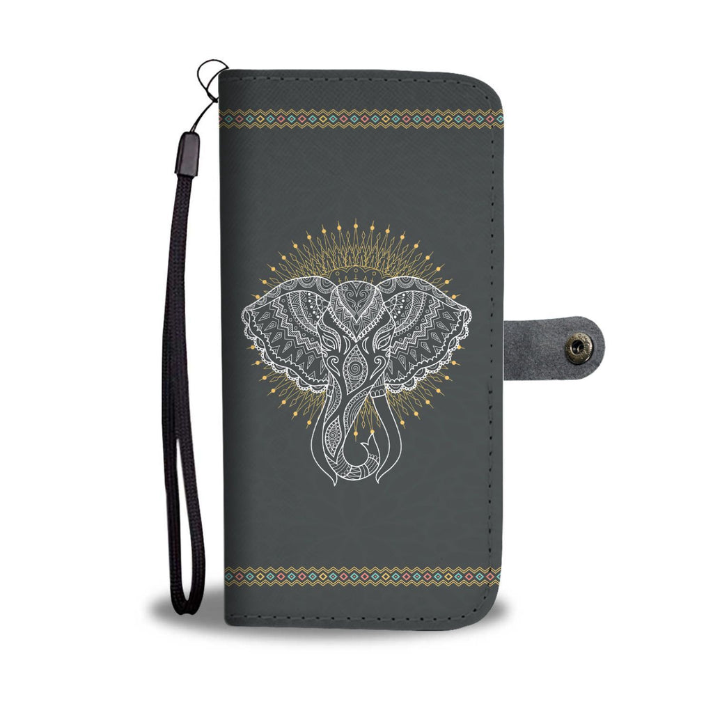 Elephant Head RFID Wallet Phone Case - Get Set Style Metro