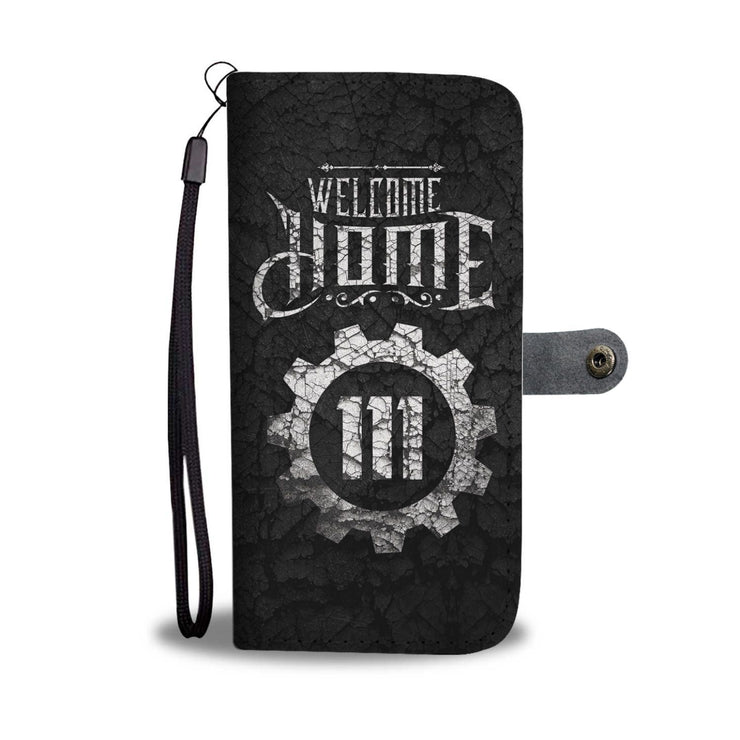 Fallout Welcome Home Custom Design RFID Wallet Phone Case - Get Set Style Metro
