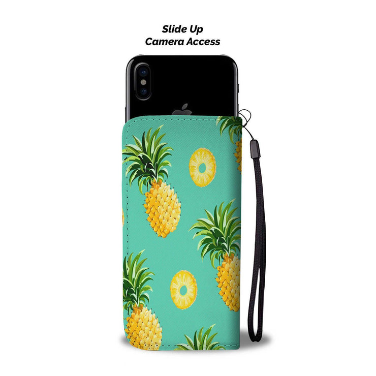 Pineapple RFID Wallet Phone Case - Get Set Style Metro