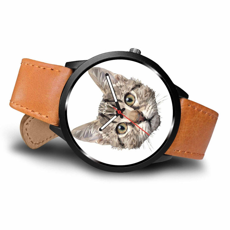 Awesome Vector Cat Whole Face Watch - Get Set Style Metro