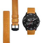 GetSetStyleMetro Watch Mens 40mm / Brown Wild Thing Customized Design Watch