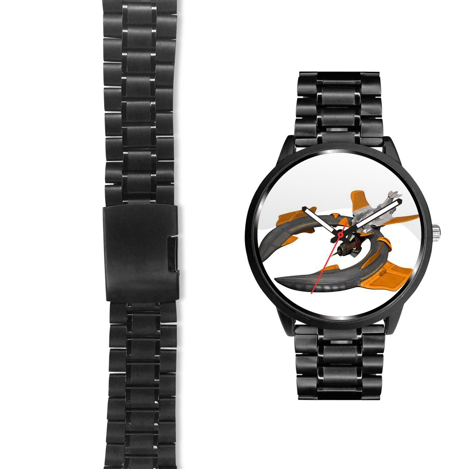 Darkorbit Orange Goliath Custom-Made Design Watch - Get Set Style Metro