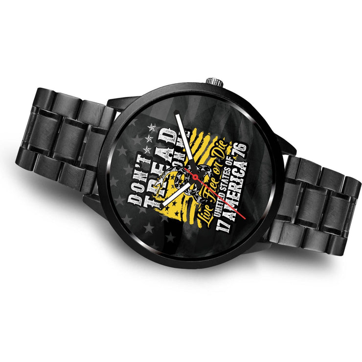 Live Free or Die Customized Design Watch - Get Set Style Metro