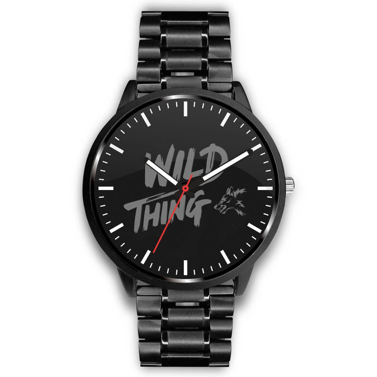 GetSetStyleMetro Watch Mens 40mm / Metal Link Wild Thing Customized Design Watch