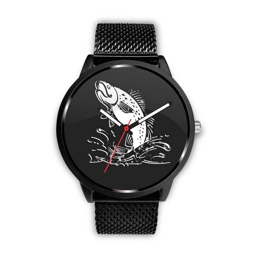 Fish In Splash Customized Design Watch - Get Set Style Metro