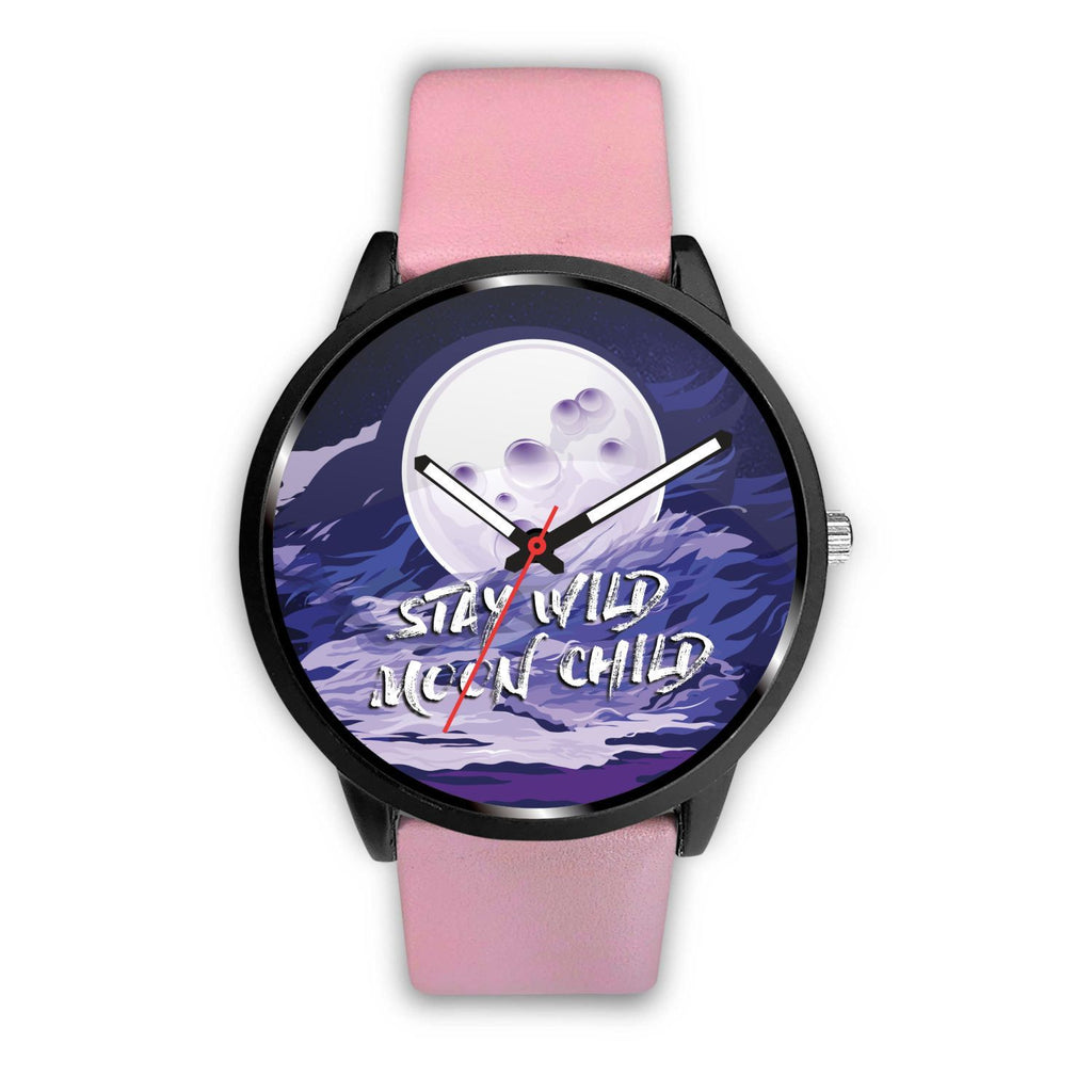 Stay Wild Moon Child Customized Design Watch - Get Set Style Metro