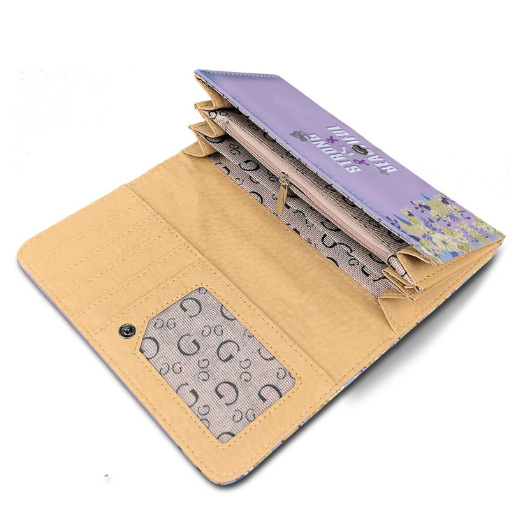 Strong And Beautiful RFID Womens Wallet - Get Set Style Metro