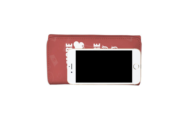 GetSetStyleMetro Womens Wallet The More I Love My Dog RFID Womens Wallet