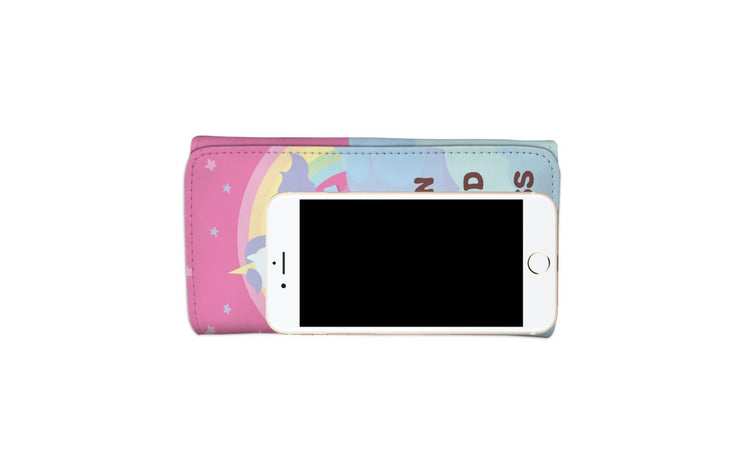GetSetStyleMetro Womens Wallet Unicorn - Mermaid - Princess RFID Womens Wallet