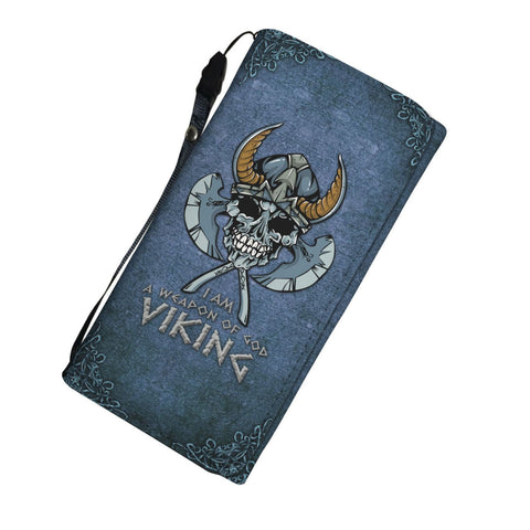 GetSetStyleMetro Womens Wallet Viking Weapon of God RFID Womens Wallet