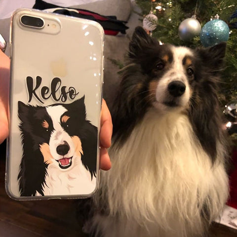 put your dog on a phone case