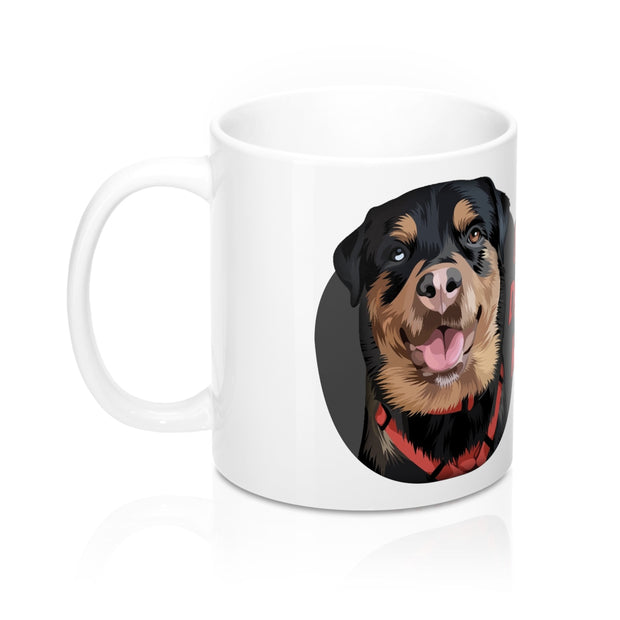 customized dog mugs