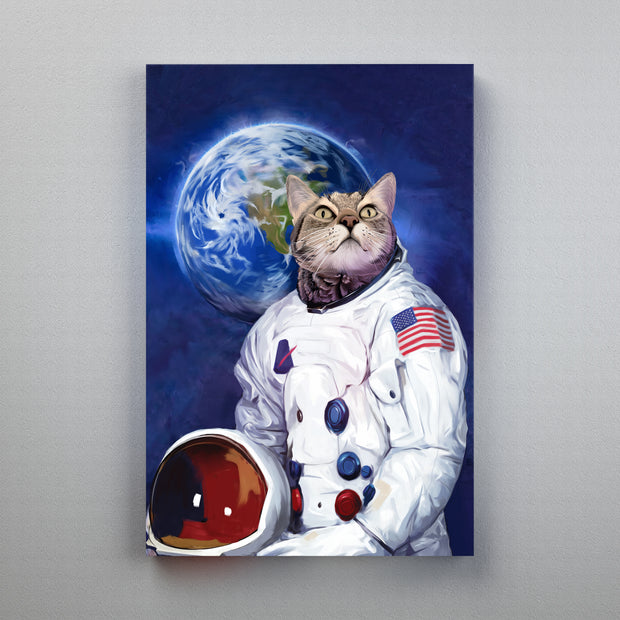 My pet as Neil Armstrong