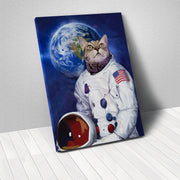 Your Pet as an astronaut