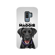 Custom pet art galaxy case