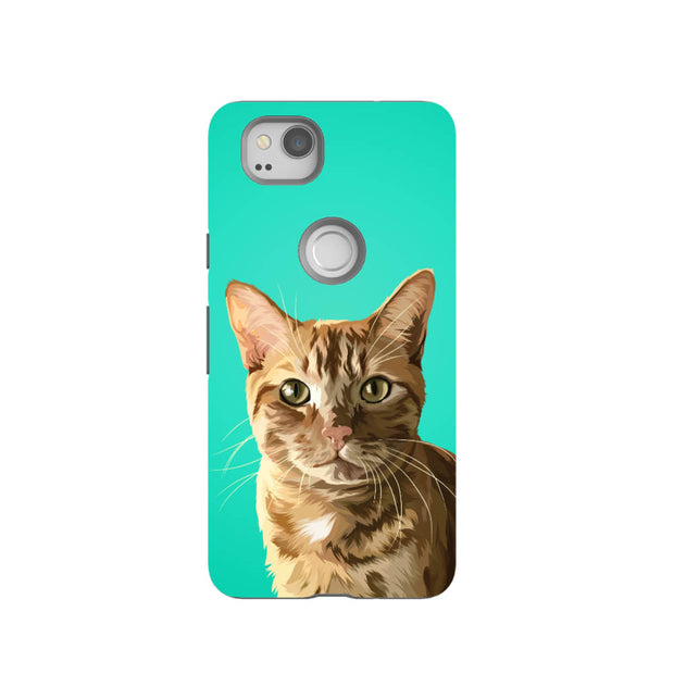 Custom Pet Art Tough Phone Case