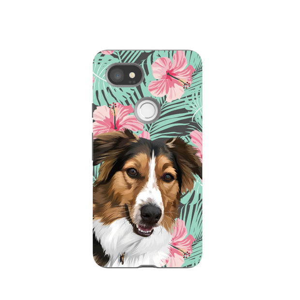 Custom Pet Art Apple iPhone Case