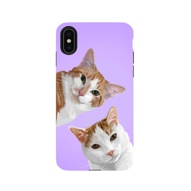 tough protective custom pet phone case