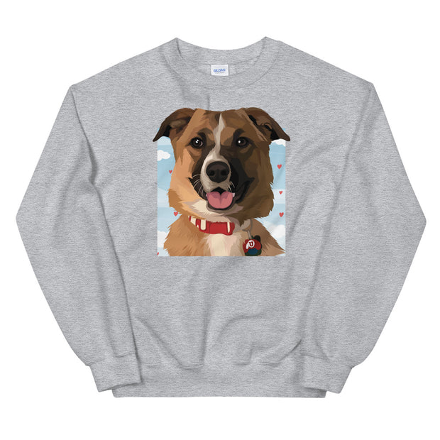 Custom Pet Crewneck Sweatshirt