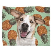 custom pet print fleece blanket
