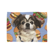custom pet memorabilia blanket